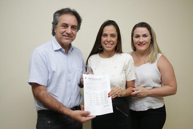 Oziel Oliveira recebe empresária da Faculdade Sulamérica para tratar sobre abertura do Curso de Graduação em Odontologia em Luis Eduardo Magalhães