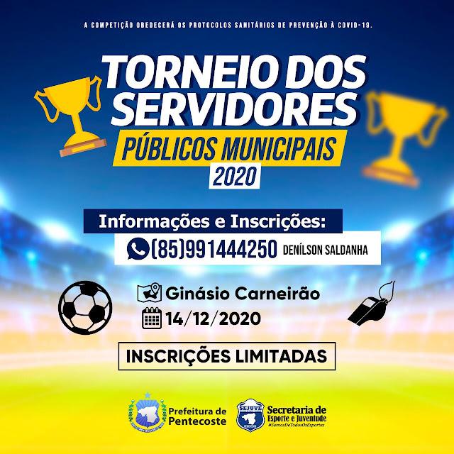 Pentecoste: Secretaria de Esporte e Juventude promoverá torneio entre servidores públicos