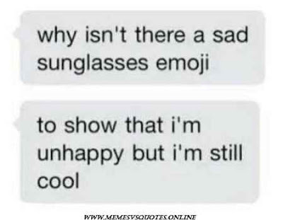 Depression sunglasses emoji