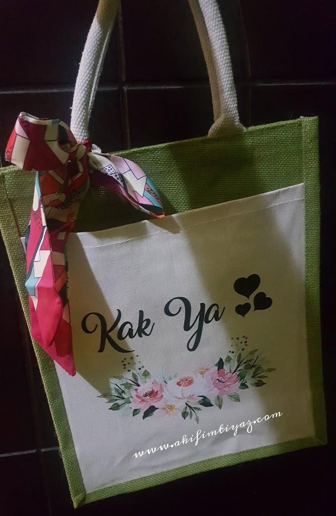 Jute Bag Cantik Hadiah Dari Kakak PSC GT5P