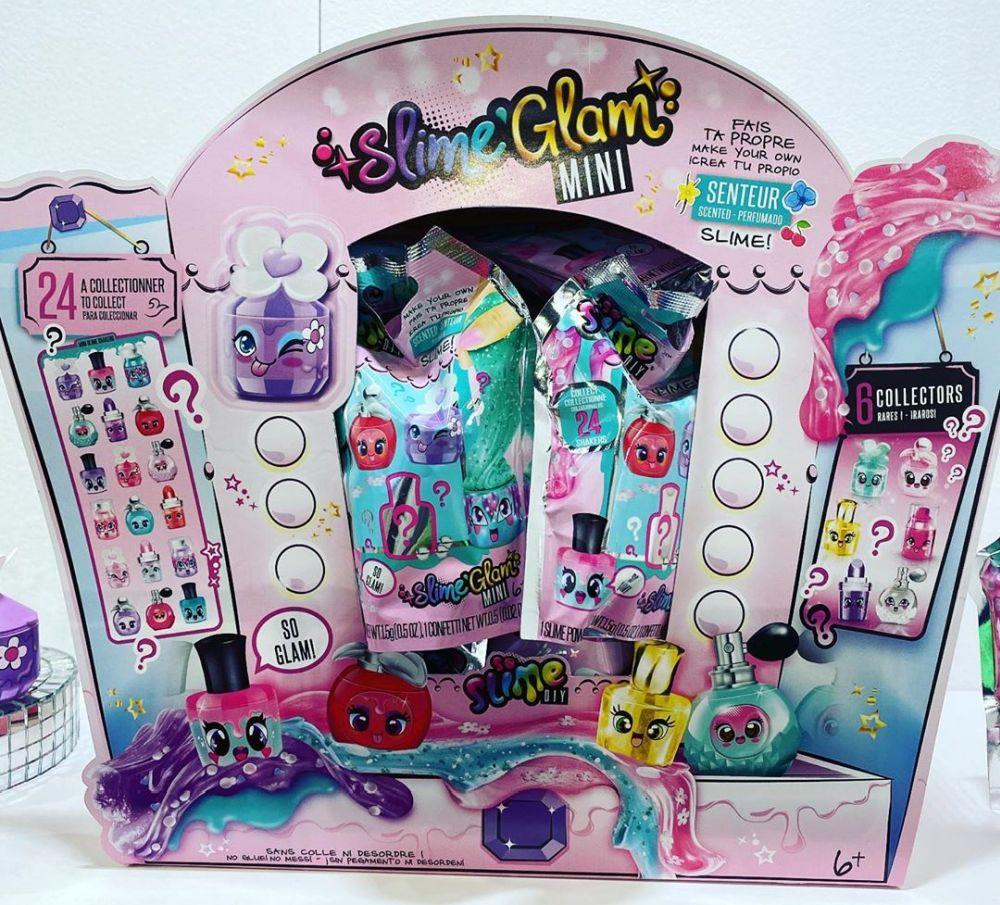 Набор для создания слайма Slime Glam Mini DIY новинки игрушек 2020