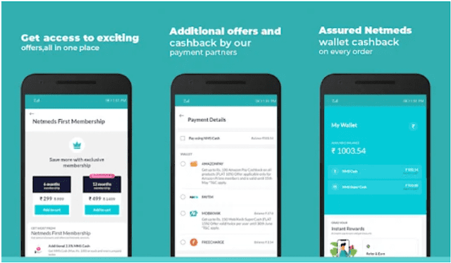 Netmeds App: Get Rs 150 NMS SuperCash on Inviting Friends   Referral Code