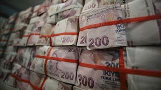 سعر صرف الليرة التركية أمام العملات الرئيسية الاثنين 27/1/2020