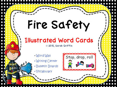 https://www.teacherspayteachers.com/Product/Fire-Vocabulary-Word-Cards-1887031