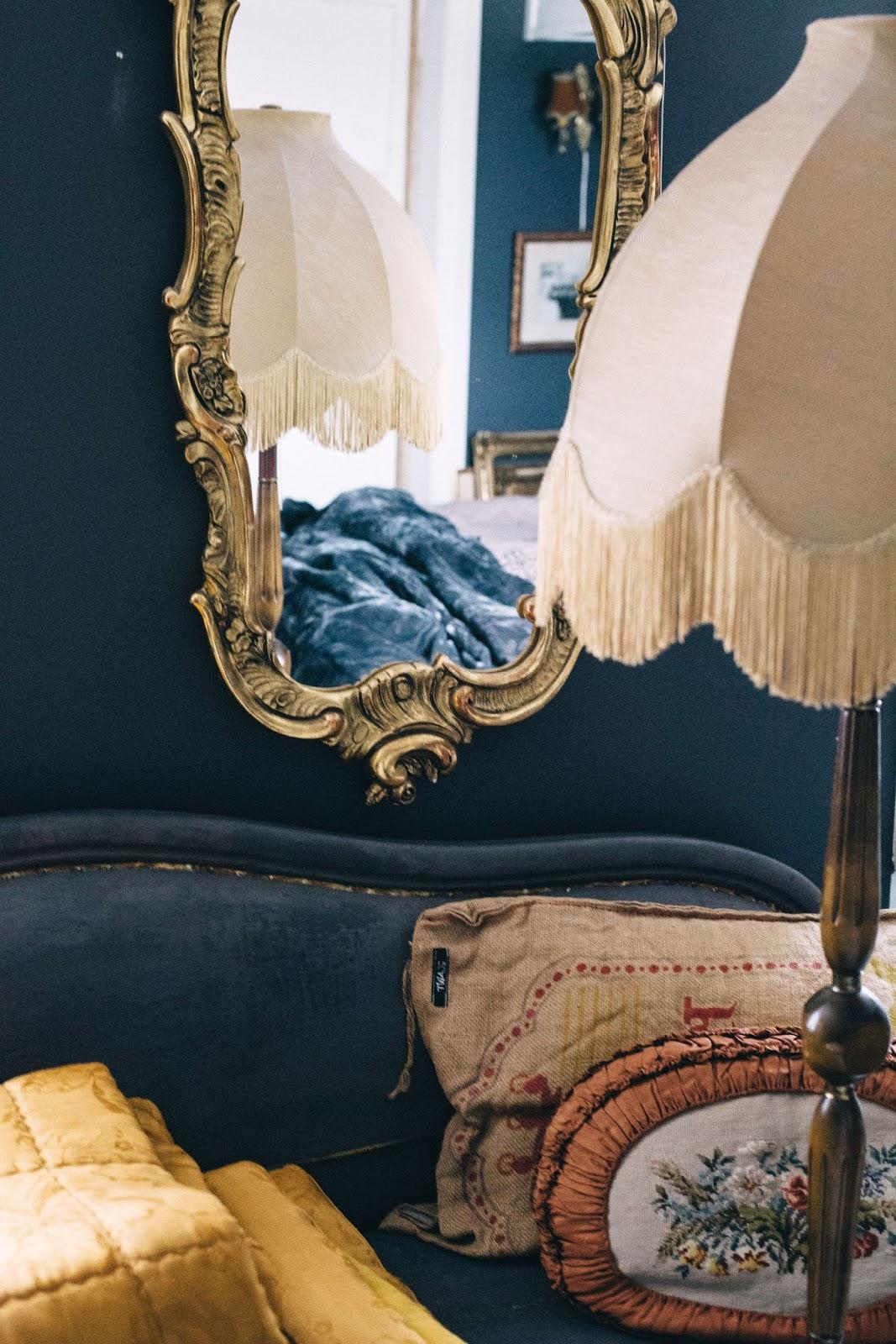 Fru vintage: vackra linnelakan till sovrummet