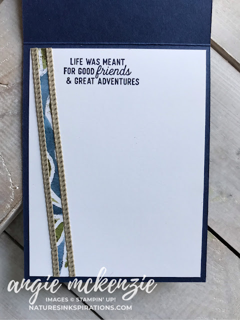 Stampin' Dreams Blog Hop - All About the Boys - June 2019 | See A Silhouette Bundle, Smooth Sailing Dies by Stampin' Up!® | Nature's INKspirations by Angie McKenzie