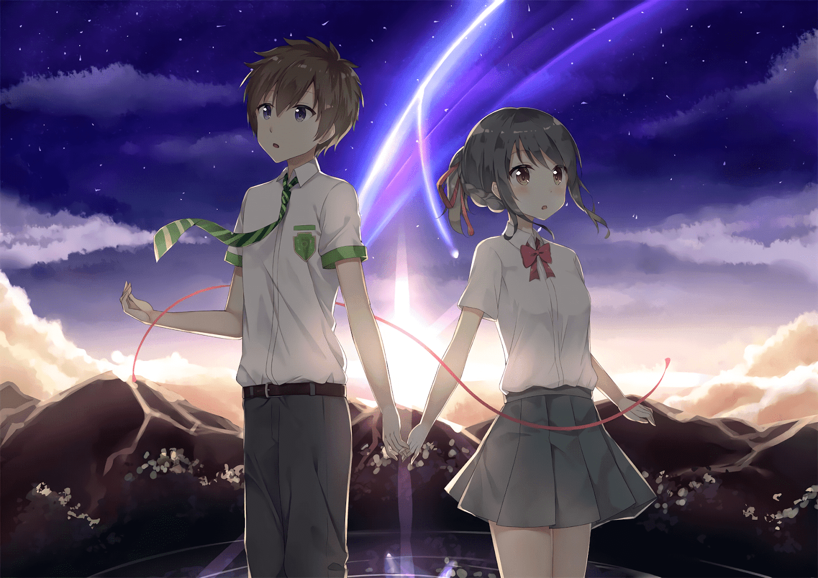 AowVN%2B%252853%2529 - [ Hình Nền ] Anime Your Name. - Kimi no Nawa full HD cực đẹp | Anime Wallpaper