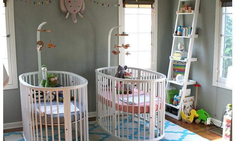 decorar+quarto+gemeos+bebes