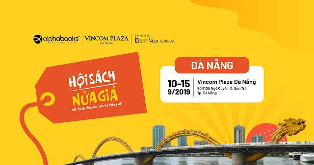 """""""Hội sách nửa giá"""" diễn ra tại Đà Nẵng từ 10-15/9/2019"""