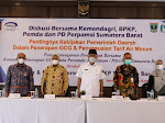 Gubernur Sumbar Dorong Kabupaten/kota Subsidi PDAM
