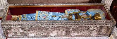 Ιερό Σκήνωμα Οσίου Ιωάννου του Ρώσσου στο Προκόπι Ευβοίας