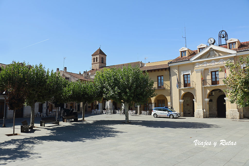 Plaza Mayor de Simancas