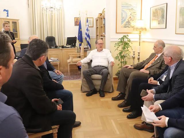 Συνεργασία Περιφέρειας Πελοποννήσου με το Γεωπονικό Πανεπιστήμιο Αθηνών και το ΕΜΠ