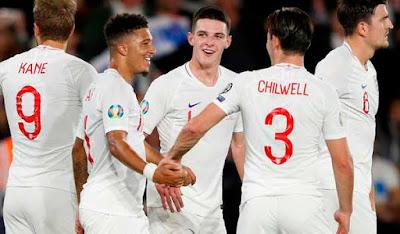 Video Cuplikan Gol: Inggris 5-3 Kosovo (Euro 2020)