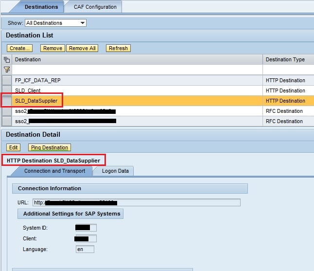 config tool in sap
