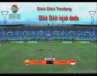 Garuda Nusantara Menang 7-1 Melawan Myanmar