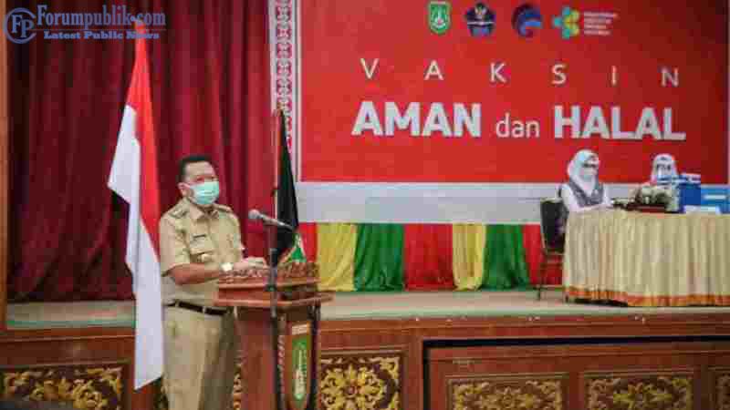 Pj Walikota: Pencanangan Vaksin Tahap Awal di Dumai, Salah Satu Upaya Keluar dari Pandemi