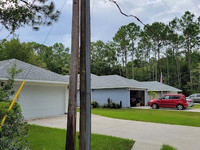 New homes built on N Orange Street in West Augustine Florida