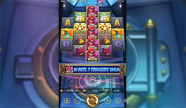 Main Gratis Slot Indonesia - Heist Stake PG Soft