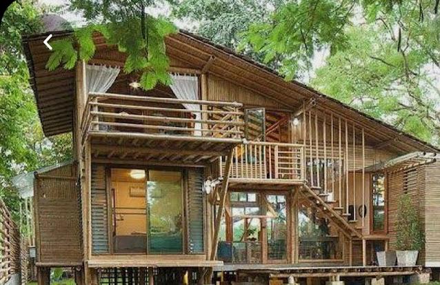 Rumah dari bambu