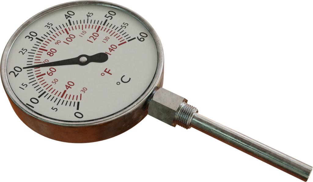 Termometer berisi cairan (termometer cair-logam)