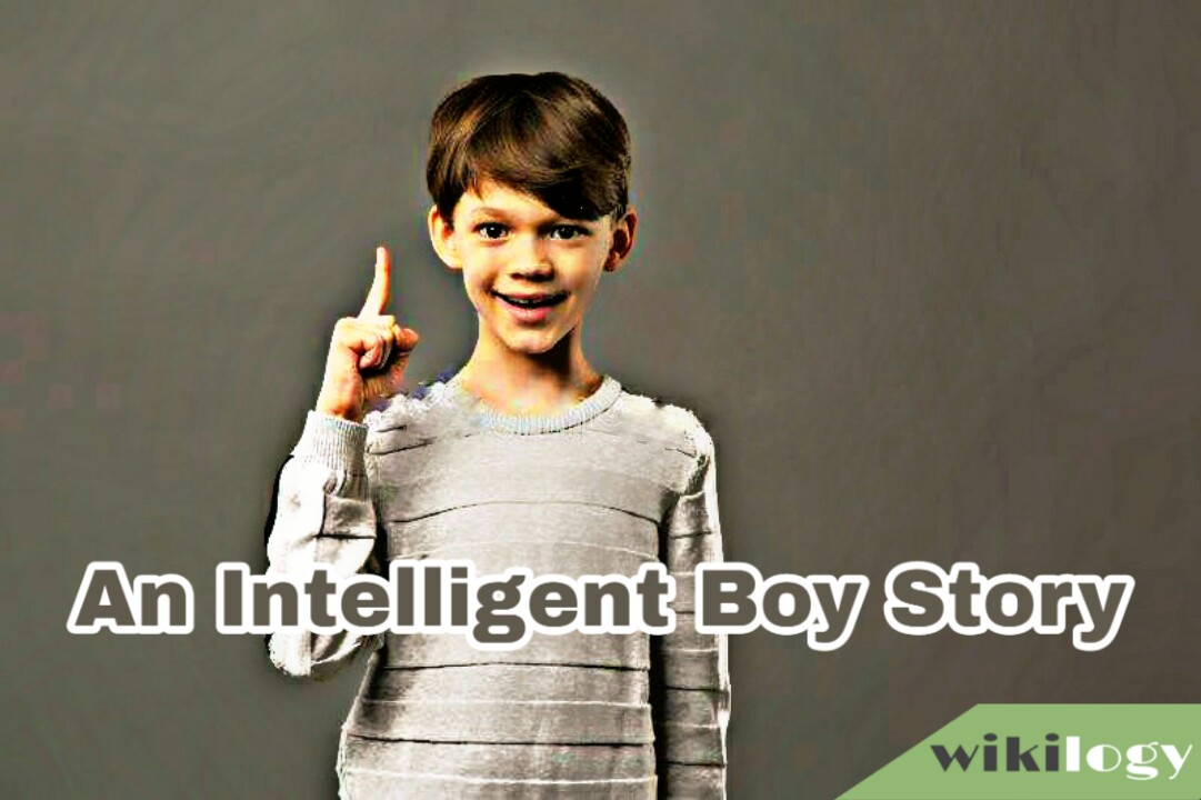 An Intelligent Boy Completing Story