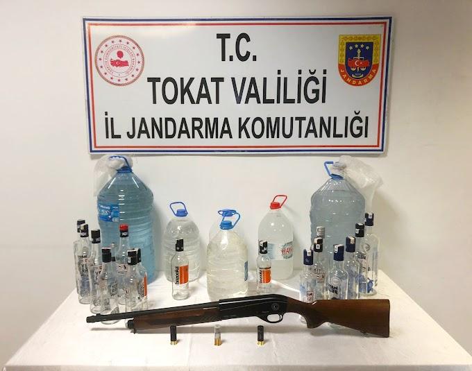 Tokat İl Jandarma Komutanlığınca; Tokat / Merkez Akyamaç köyünde