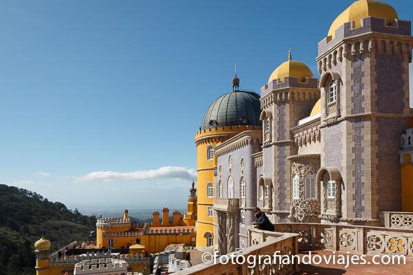 Castillo da Pena en Sintra
