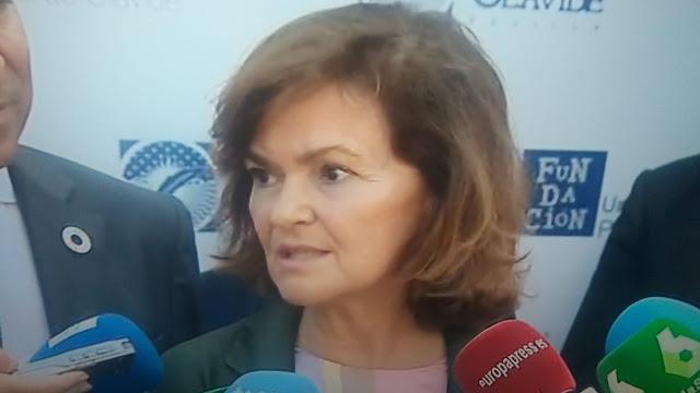 Polémicas declaraciones de Carmen Calvo sobre Open Arms