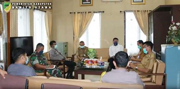Posko Induk Covid- 19 Kabupaten Barito Utara Segera Beroperasi