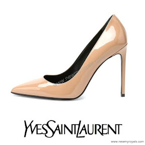 Princess Sofia wore Yves Saint Laurent pumps