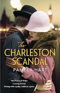 The Charleston Scandal by Pamela Hart book cover