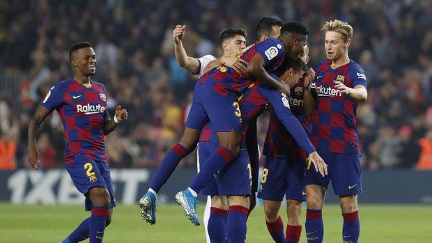 Barcelona Catat Rekor Terburuk di Liga Spanyol