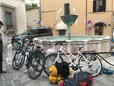 cycling Umbria italy bike rental shop in Narni