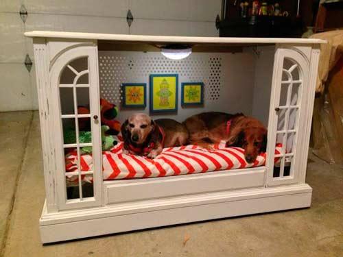 Construye Muebles de Madera para tu Mascota con estos 30 Planos