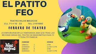 EL PATITO FEO Hilos Magicos 2020