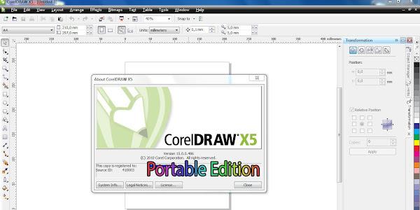 CorelDraw Portable X5 Free Download