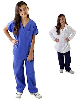 kids doctor kit and dress up set