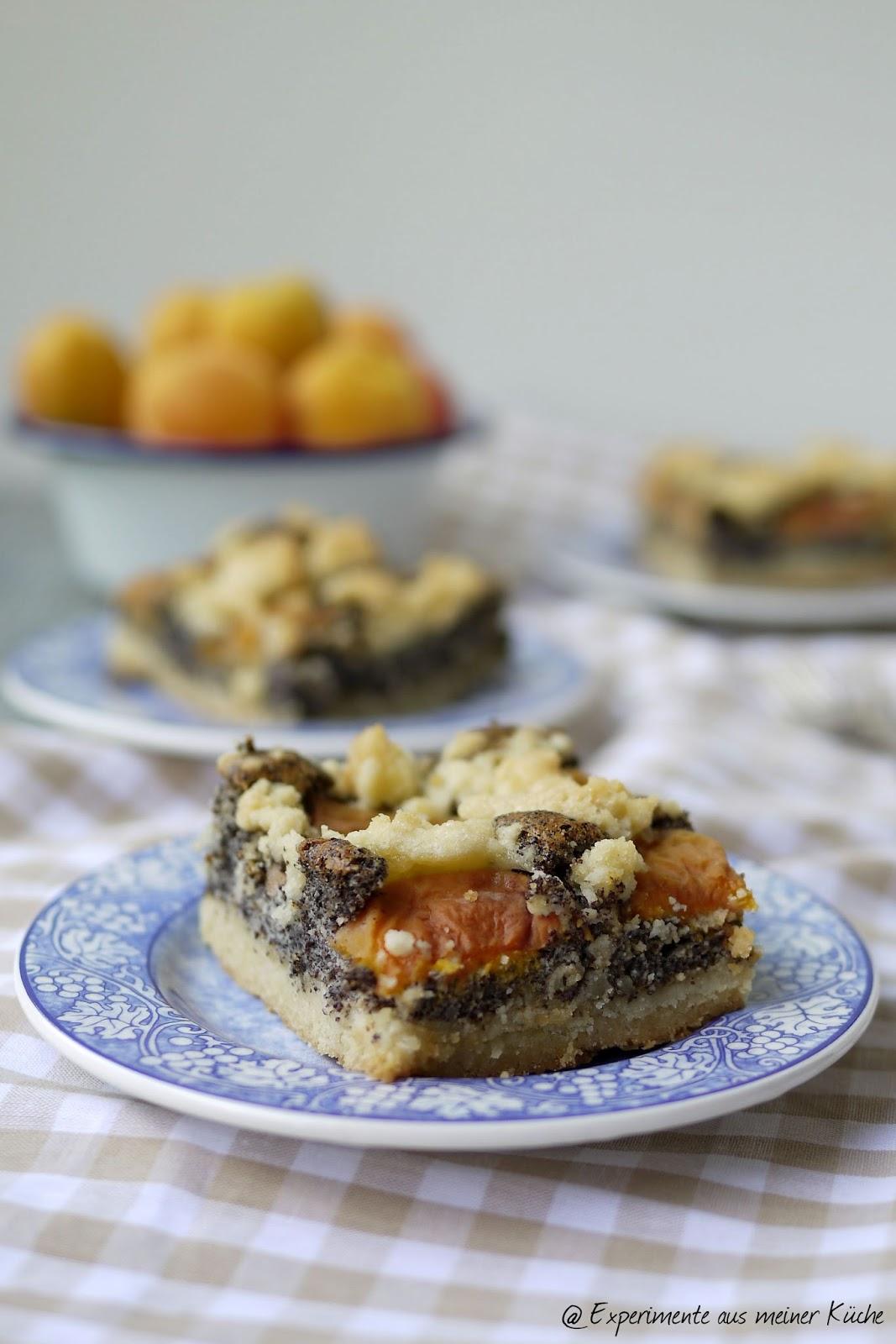 Experimente aus meiner Küche: Aprikosen-Mohn-Kuchen