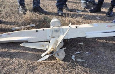عمليات صلاح الدين تعثر على طائرتين مسيرتين وأعتدة في جزيرة الثرثار