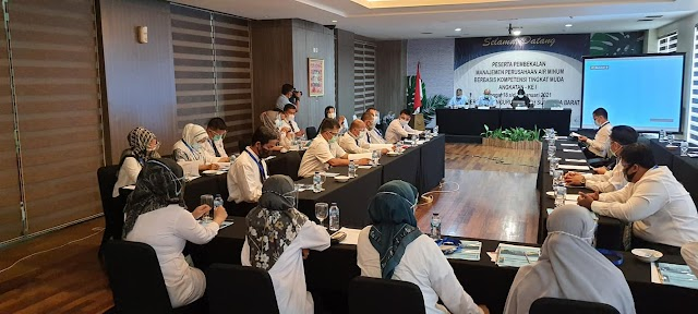 Ketua DPD Perpamsi Sumbar Buka Diklat Berbasis Kompetensi
