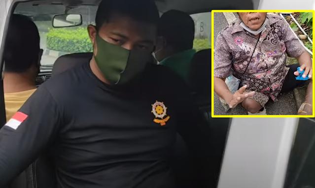 Miris! Pengemis Berkaki Buntung, Uangnya Dirampas Oknum Dinas Sosial, Diturunkan di Tengah Jalan, Lihat Videonya