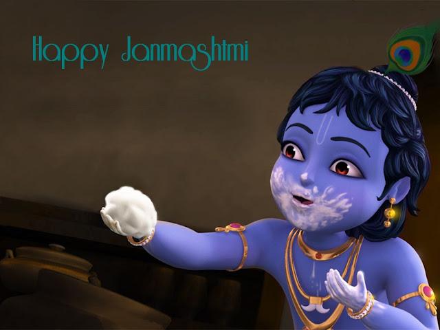 श्रीकृष्ण जन्माष्टमी हिंदी इमेज Krishna Janmashtami 2016 Images Pictures