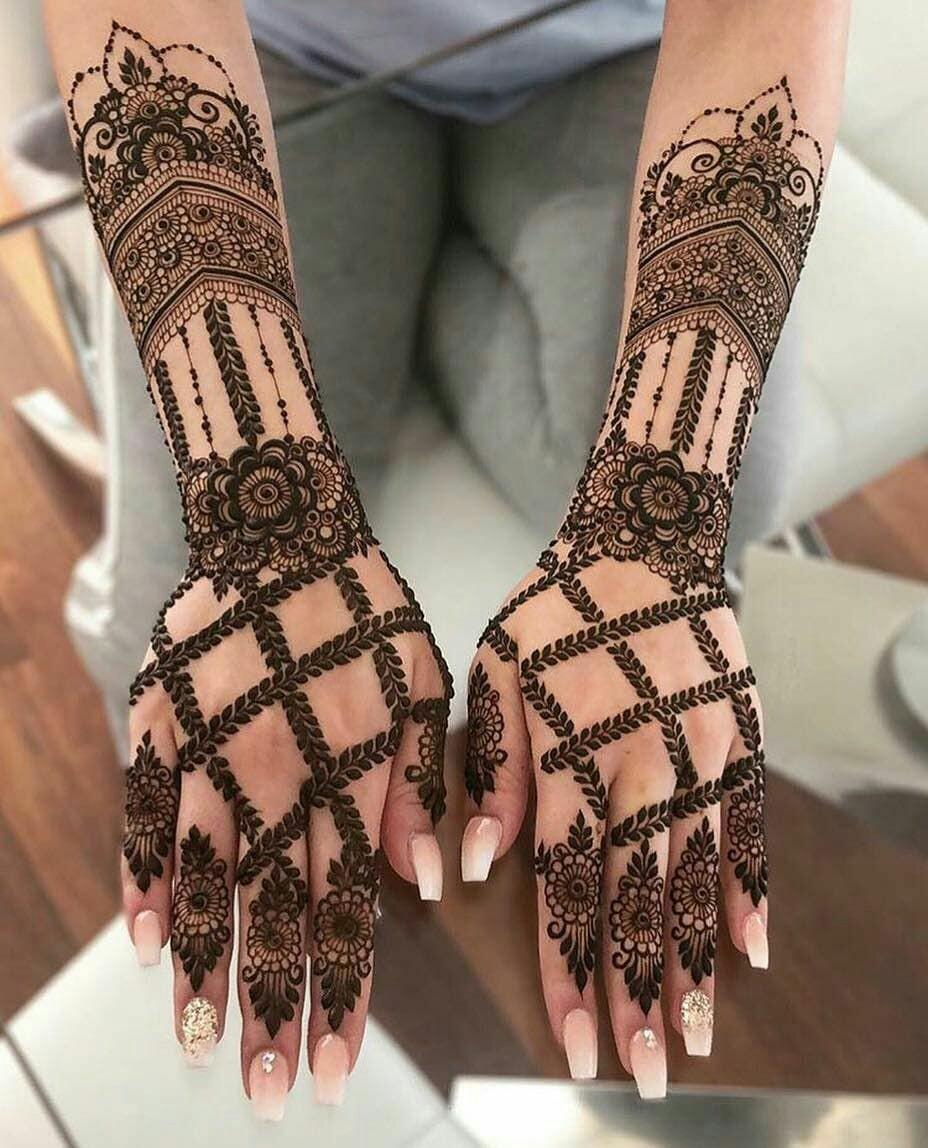 45 Latest Full Hand Mehndi Designs New Full Mehndi Design To Try In 2019 Bling Sparkle