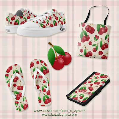 cherries pattern gifts collection
