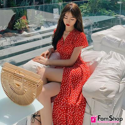 shop ban vay maxi gia re tai Trung Van