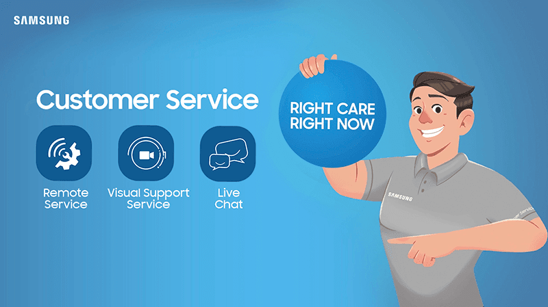 Samsung offers improved customer service solutions