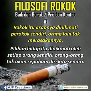 Kata-Kata Bijak Filosofi Rokok