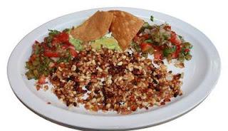 Escamoles , Central Mexico ,bizzare food