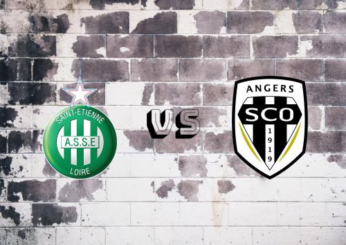 Saint-Étienne vs Angers  Resumen